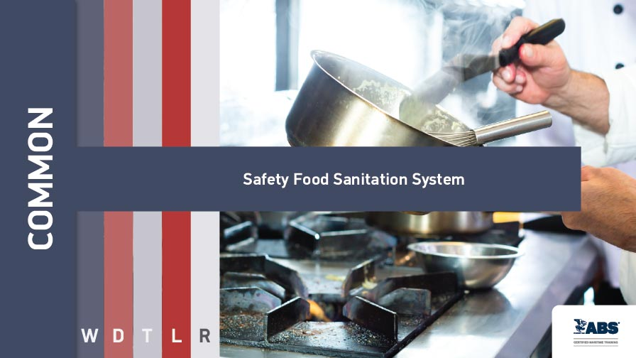 1010 safety food sanitation system sqlearn